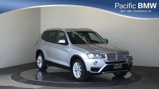 Certified Pre-Owned 2016 BMW X3 RWD 4dr sDrive28i