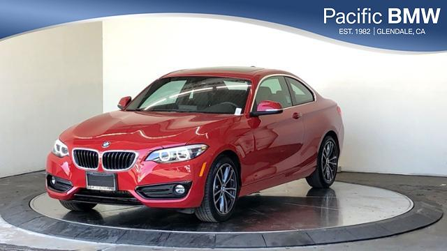 Pre-Owned 2018 BMW 2 Series 230i Coupe With Navigation