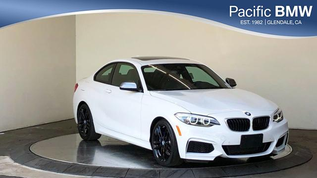 Pre-Owned 2018 BMW 2 Series M240i Coupe RWD 2dr Car