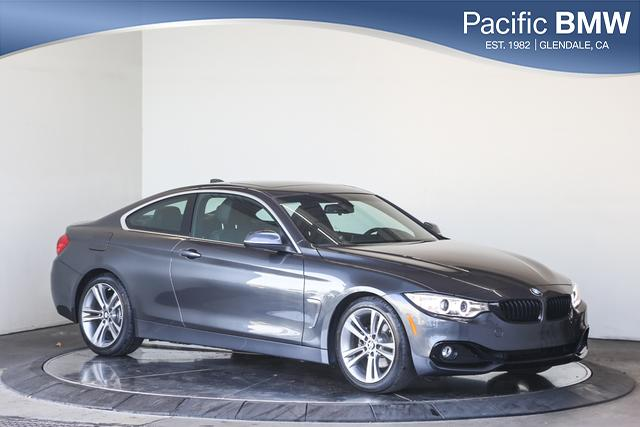 Certified Pre-Owned 2017 BMW 4 Series 430i Coupe SULEV