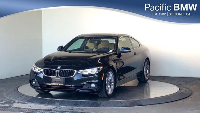 Pre-Owned 2019 BMW 4 Series 430i Coupe RWD 2dr Car