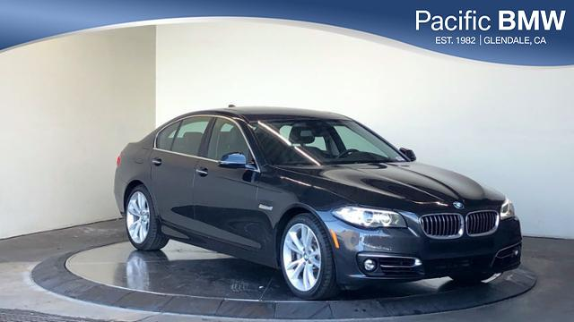Certified Pre-Owned 2016 BMW 5 Series 4dr Sdn 535i RWD