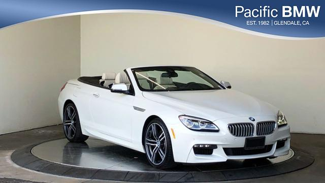 Pre Owned 2018 Bmw 6 Series 650i Convertible