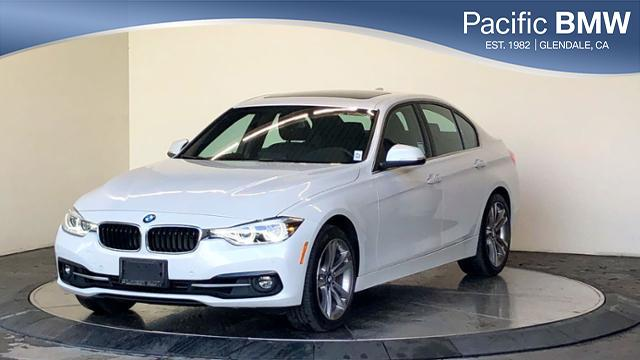 Pre-Owned 2018 BMW 3 Series 330i Sedan With Navigation