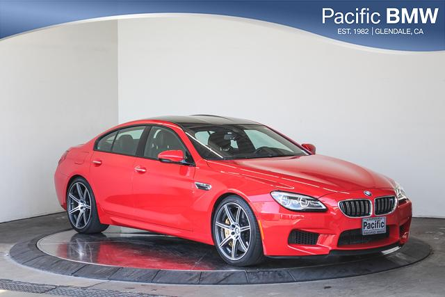 Pre-Owned 2018 BMW M6 Gran Coupe