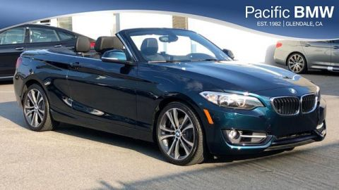 Certified Pre-Owned 2016 BMW 2 Series 2dr Conv 228i RWD