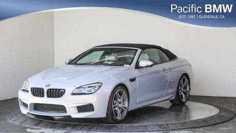 Certified Pre-Owned 2016 BMW M6 2dr Conv